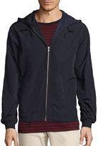 Vince Men's Hooded Track Jacket - Blue, Size xx-large