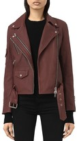 AllSaints Harland Leather Biker Jacket
