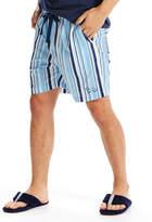 Peter Alexander peteralexander Mens Canvas Stripe Mid Short
