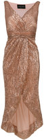 Christian Pellizzari sequin asymmetric dress