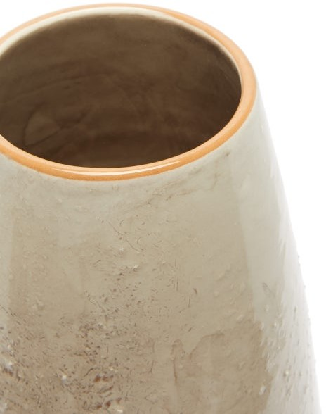 Thumbnail for your product : Brunello Cucinelli Textured Glazed-ceramic Vase - Beige