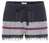 Lemlem Makari cotton and wool shorts