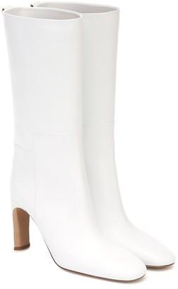 Jil Sander Leather mid-length boots