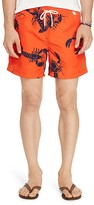 Polo Ralph Lauren Lobster Print Swim Trunks