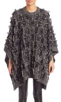 McQ by Alexander McQueen Fringe Poncho