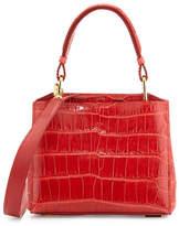 VBH Seven 20Cocco Crocodile Bag, Red