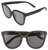 Quay Women's Paradiso 52Mm Cat Eye Sunglasses - Black/ Smoke