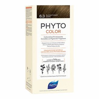 Phyto Hair Colour by Phytocolor - 6.3 Dark Golden Blonde 180g