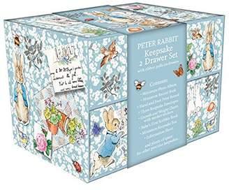 Keepsake Peter Rabbit Pin Up 2 Drawer Box, 22.5 X 22.5 X 17.5