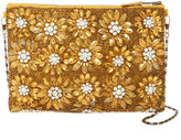 G Lish G-Lish Floral Embellished Pouch