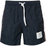 Thom Browne side stripe swim shorts