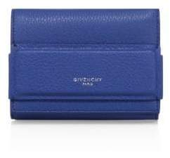 Givenchy Horizon Trifold Leather Wallet