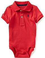 Ralph Lauren Baby Boys 3-12 Months Short-Sleeve Polo Bodysuit