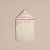 Burberry Check-Lined Baby Nest