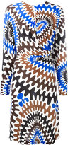 Emilio Pucci wheels print dress