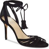 Vince Camuto Stellima Ankle-Tie Tassel Dress Sandals Women's Shoes