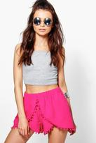Boohoo Emily Pompom Shorts