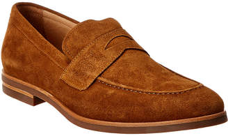Warfield & Grand Baker Suede Penny Loafer