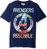 Marvel Men's Avengers Assemble Icon T-Shirt