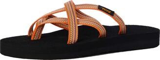 Teva Olowahu Women Open-Back Open Back Slippers