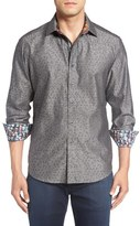 Robert Graham 'Basilio' Regular Fit Jacquard Sport Shirt