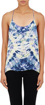 Raquel Allegra WOMEN'S TIE-DYED SILK CAMISOLE-PURPLE SIZE 0