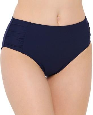 Apt. 9 Women's Shirred High-Waist Swim Bottoms