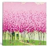 iCanvas 'Happiness' Giclee Print Canvas Art