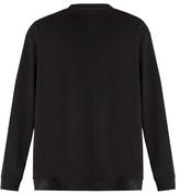 Raf Simons Oversized wave-print cotton sweatshirt