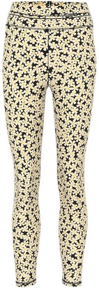 Adam Selman Sport Floral high-rise leggings