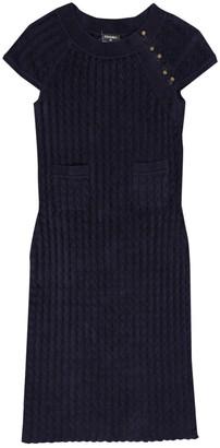 Chanel Navy Viscose Dresses