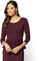 New York & Co. 7th Avenue - Sweater Collection - Peplum Cardigan