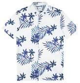 Burton Mens Short Sleeve Floral Printed Shirt