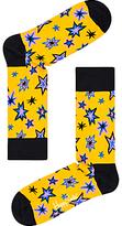 Happy Socks Bang Bang Socks, One Size, Yellow