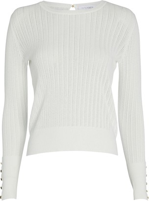 Intermix Coralie Pointelle Knit Top