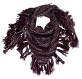 Rebecca Minkoff Knit Fringe Shawl