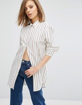 Wood Wood Frankie Stripe Arm Shirt