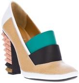 Fendi studded pump shoe