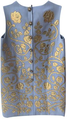 Dolce & Gabbana Blue Wool Dresses
