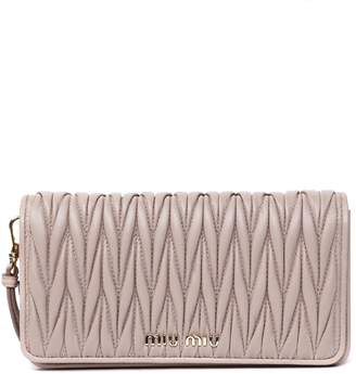 Miu Miu Cameo Quilted Leather Bag