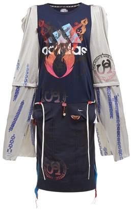 Couture Noki - Customised Street T-shirt Dress - Womens - Multi