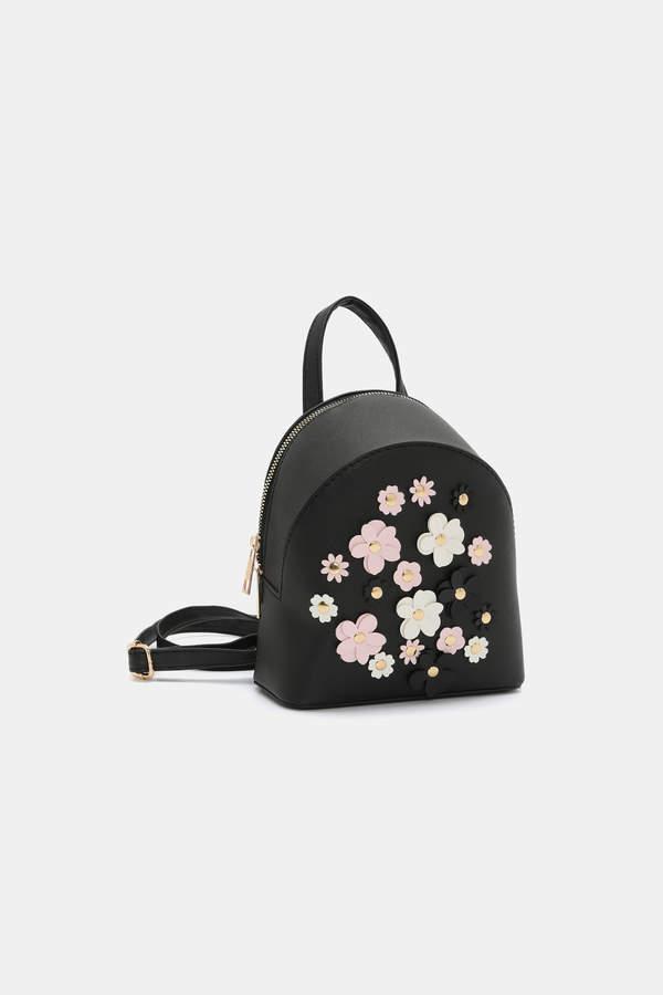 Floral Mini Backpack