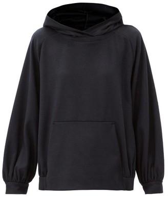 MAX MARA LEISURE Papy Hooded Sweatshirt - Navy