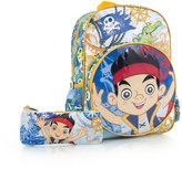 Disney Heys Jake and the Never Land Pirates 15' Backpack with Pencil Case Kids Rucksack