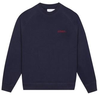 Maison Labiche Amour Sweatshirt in Navy JWSAMOUR - S . | cotton | navy - Navy