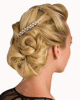 Le Château Metal & Pearl-Like Hair Comb