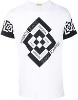 Versace diamond check T-shirt