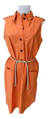 Hermes Orange Cotton - elasthane Dresses