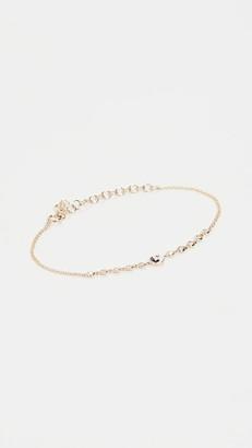 The Last Line 14k Diamond Yin Yang & Diamond Bezel Bracelet