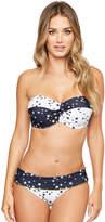 Figleaves Lucky Star Underwired Bandeau Bikini Top